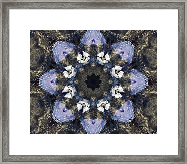 Reflection - Kaleidoscope Art Framed Print