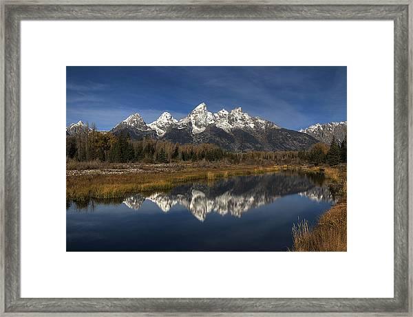 Reflection Of Change Framed Print
