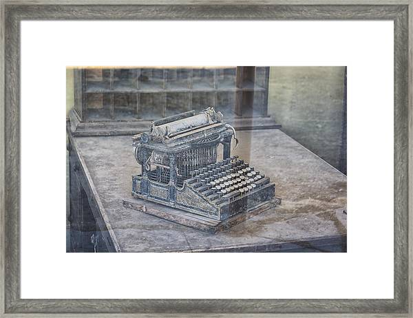 Reflections From The Past 1 Framed Print