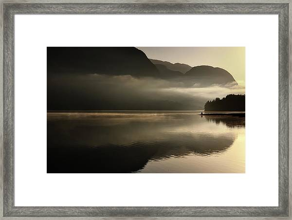 Reflections Framed Print by Izidor Gasperlin