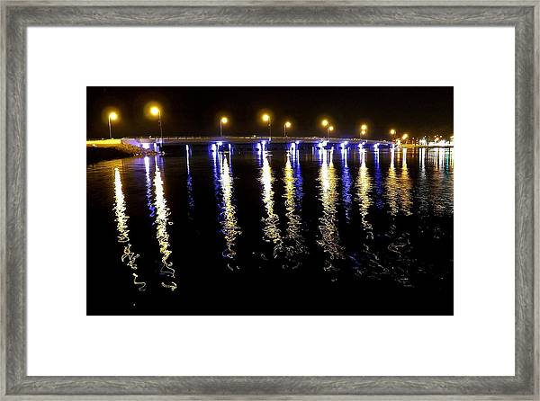 Reflections Of Time Past Framed Print
