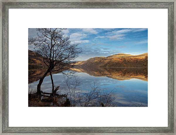 Reflections On Loch Lomond Framed Print