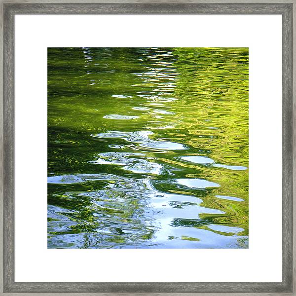 Reflections On Madrid Framed Print