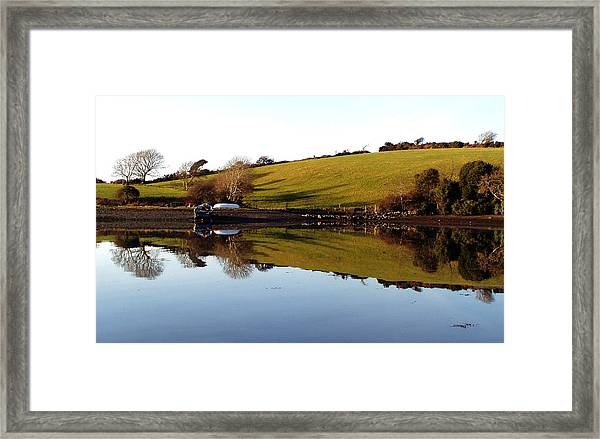 Reflections Framed Print by Phil Darby
