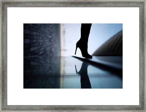 Reflections Framed Print by Yuri Shepelev