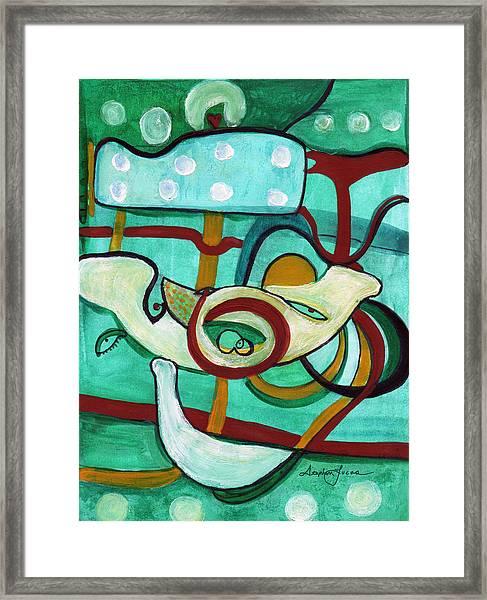 Reflective #3 Framed Print