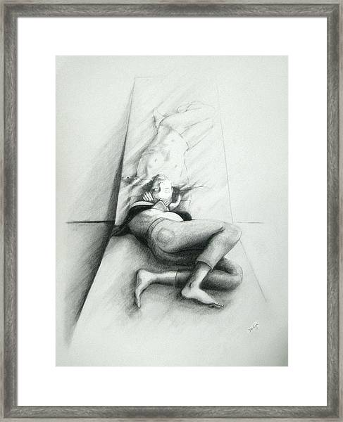 Reflective Reason Framed Print