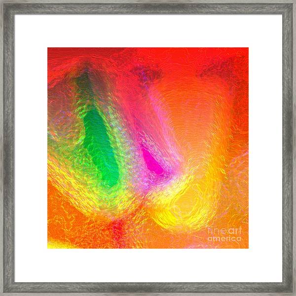 Reiki Framed Print