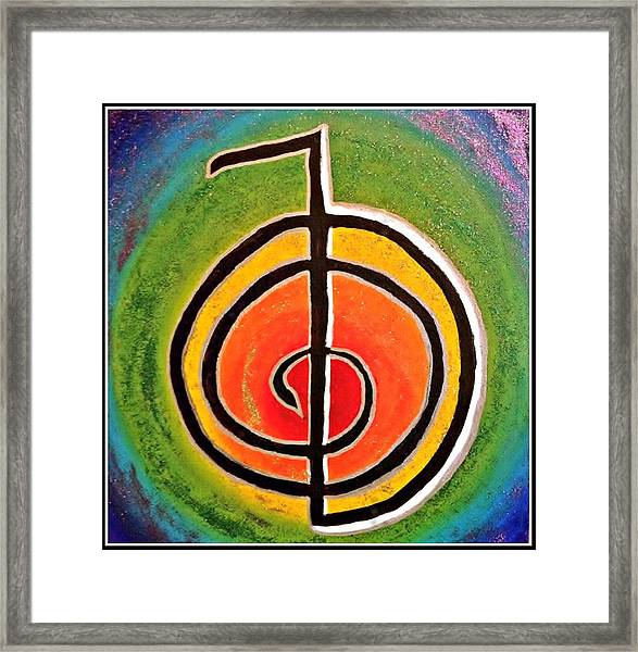 Reiki Power Framed Print