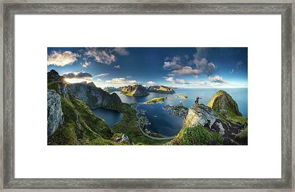 Reinebringen Views Framed Print