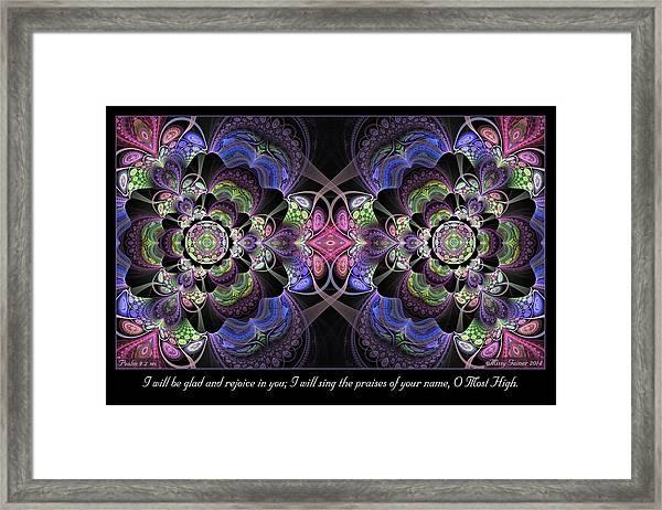 Rejoice In You Framed Print