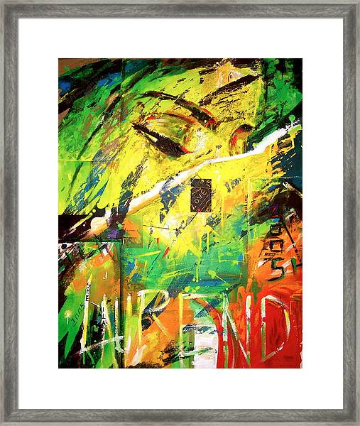 Relam Of An A Framed Print by Laurend Doumba