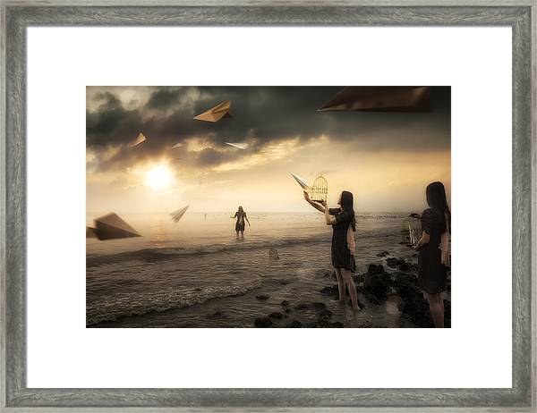 Released Framed Print by Christophe Kiciak