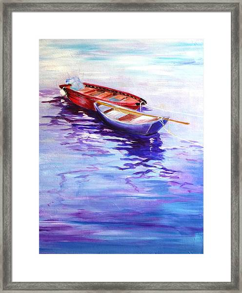 Reliance Framed Print
