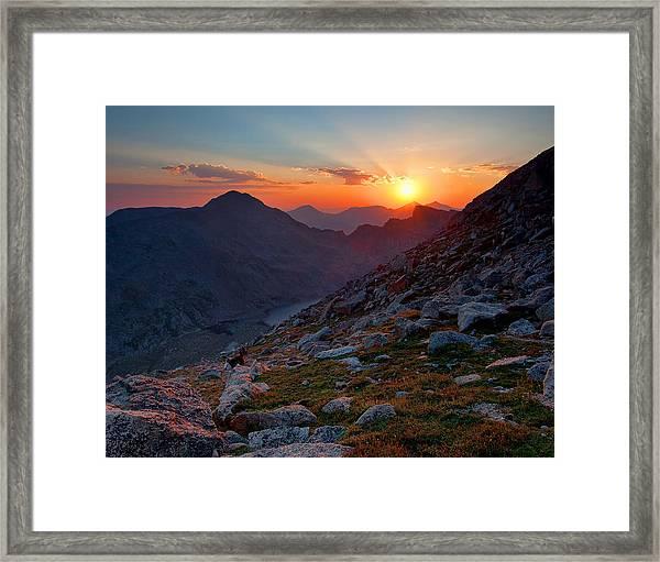 Remember The Day Framed Print