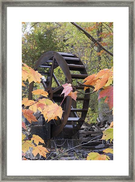 Remnant Of The Past Framed Print
