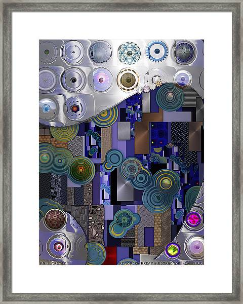 Remodern Dream Abstractor  Framed Print