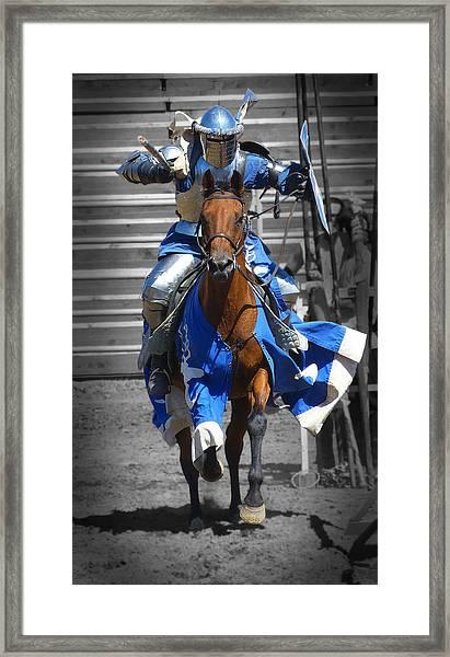 Renaissance Knight Framed Print