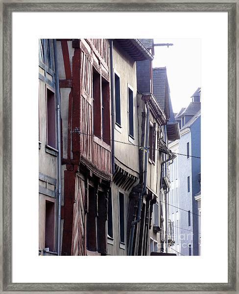 Rennes France 2 Framed Print