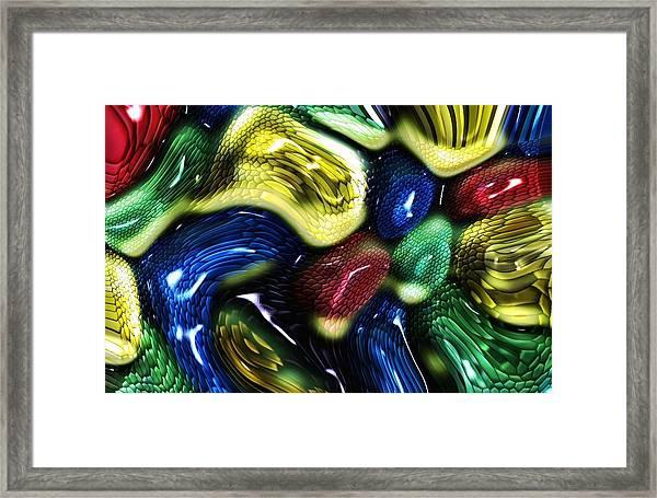 Reptile House Framed Print