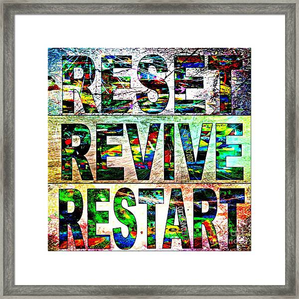 Rerere 2012 Framed Print by Currie Silver