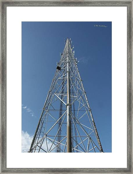Rescue 21 Tower Framed Print