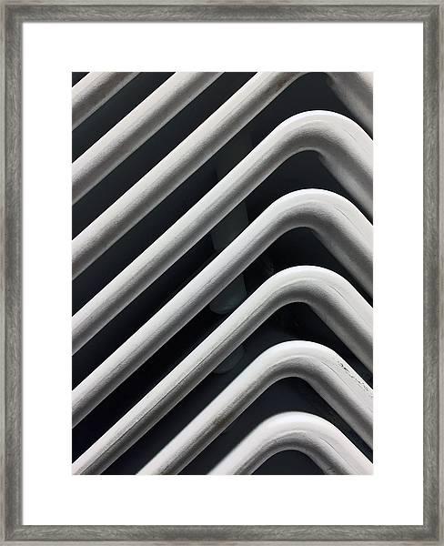 Reserved Seating I Framed Print
