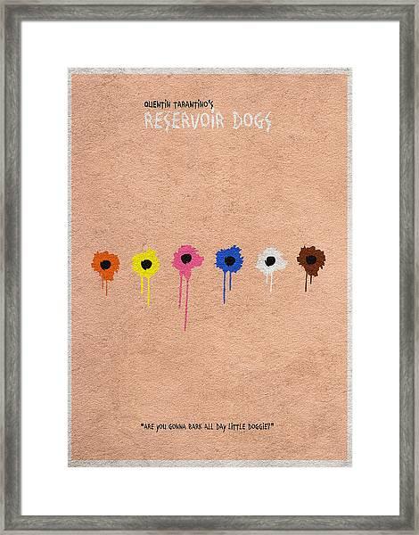 Reservoir Dogs - 2 Framed Print