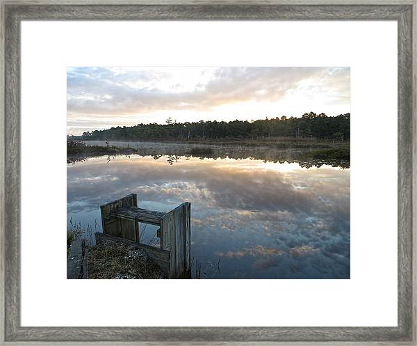 Reservoir Reflections Framed Print