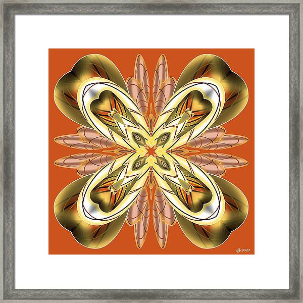 Resist The Flow 12 Framed Print