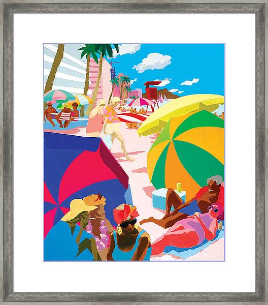 Resort Framed Print
