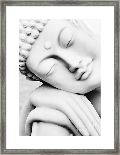 Restful Buddha Framed Print