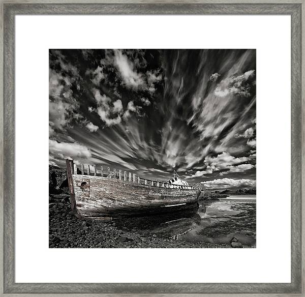 Resting There (mono) Framed Print by ?orsteinn H. Ingibergsson