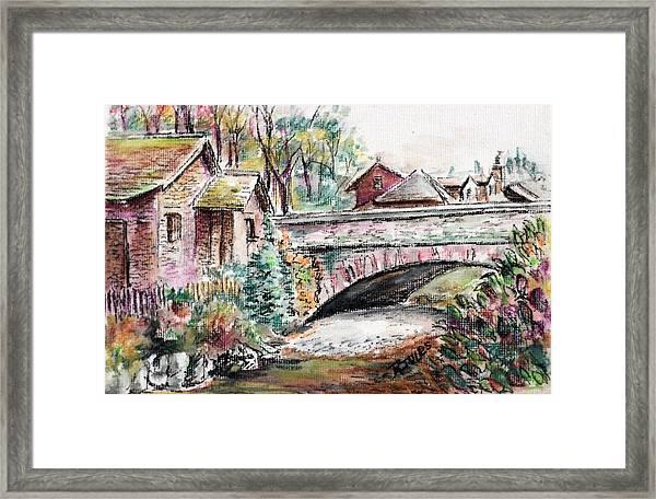 Retreat At Grassmere Framed Print