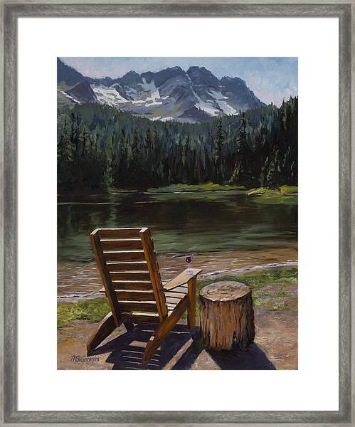 Retreat Framed Print