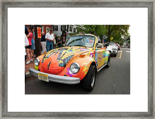Retro Bug Framed Print