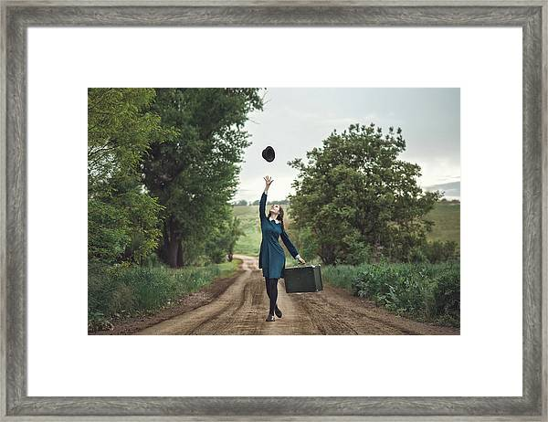 Return Home Framed Print
