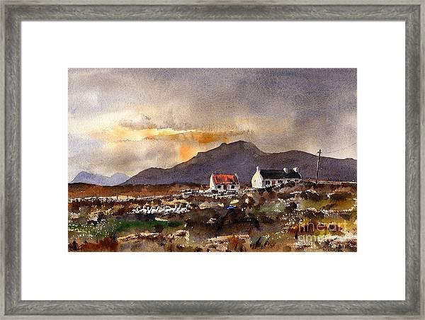 Returning Home In Achill Framed Print