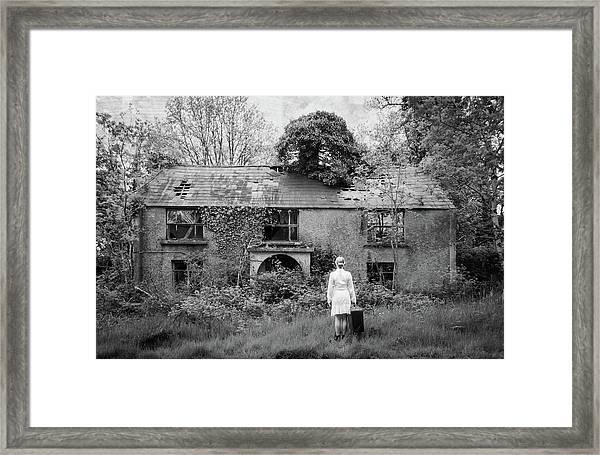 Returning Home Framed Print by Kasia Krefft