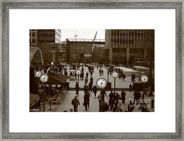 Reuters Plaza  Framed Print by Size X