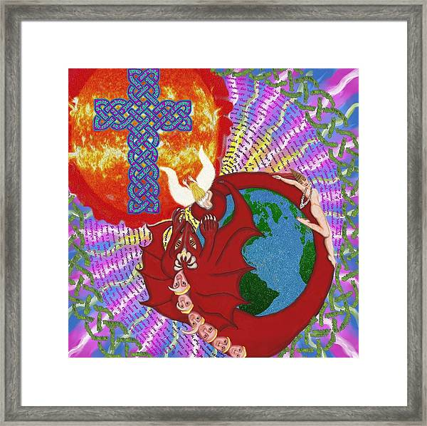 Revelation 12 Framed Print