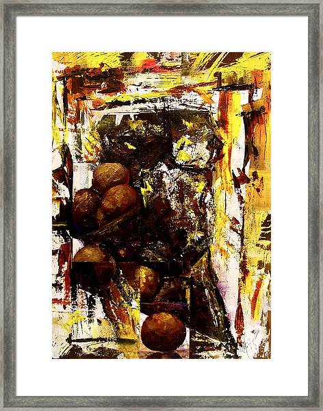 Revolving Sensuality Framed Print by Laurend Doumba