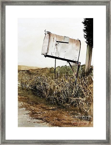 RFD Framed Print