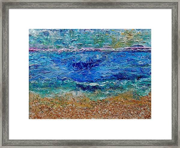 Rhapsody On The Sea  Framed Print