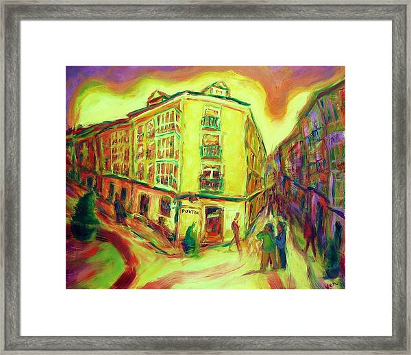 Framed Print featuring the painting Rhapsody by Yen