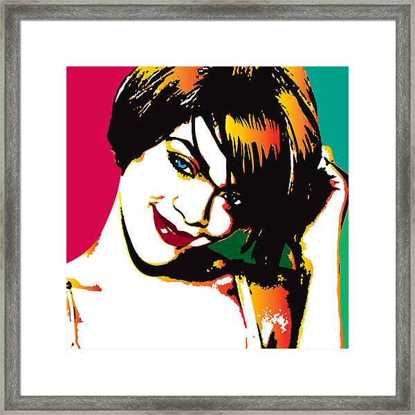Rhiana  Framed Print
