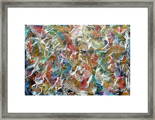 Rhythm And Blues Framed Print
