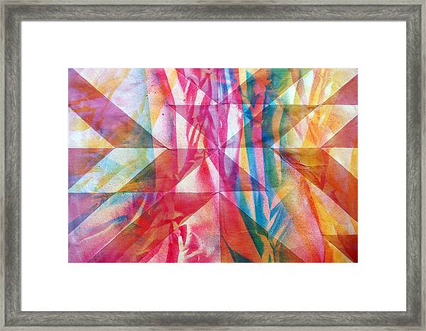 Rhythm And Flow Framed Print