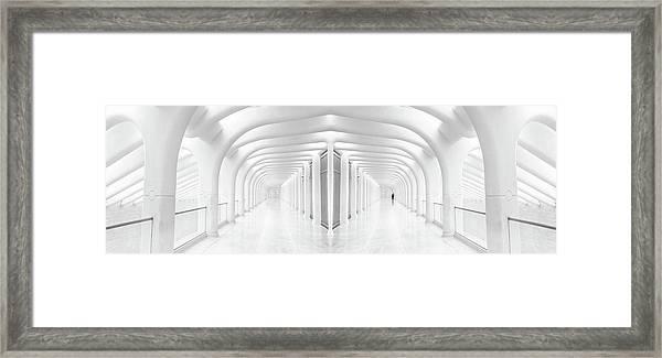 Rib Cage Framed Print
