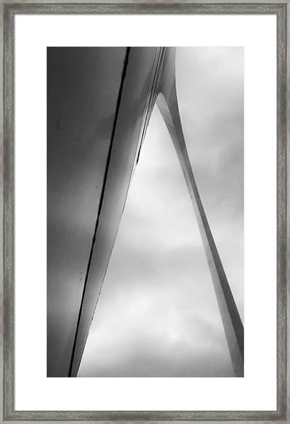 Ribbon In The Sky Framed Print